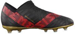 Fußballschuhe NEMEZIZ 18+ FG J aus innovativem Material CP9123 adidas performance CBLACK/CBLACK/SOLRED