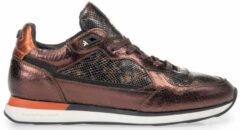 Floris van Bommel Vrouwen Sneakers - 85312 - Brons - Maat 39 1/2