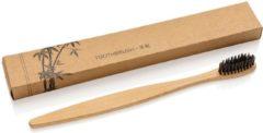 VD Gaag Enterprise Kwaliteit Bamboe tandenborstel met houtskool haren