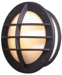 Konstsmide Oden 515-752 Buitenlamp (wand) Energielabel: Afhankelijk van de lamp Spaarlamp, LED E27 60 W Zwart
