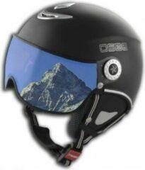 Zwarte Osbe Skihelm Proton Snow Dull Black 54/56 cm