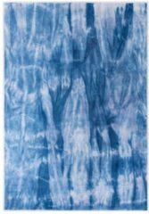 Handwebteppich Xaver Tom Tailor Blau