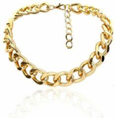 Gouden Fashionvibe.nl Cuban Choker Gold