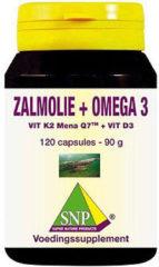 SNP Zalmolie and vit. K2 mena Q7 and vit. D3 and vit. E Capsules