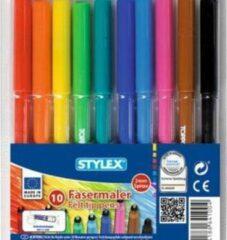 Stylex Viltstiften, 10 stuks - Verjaardagcadeau
