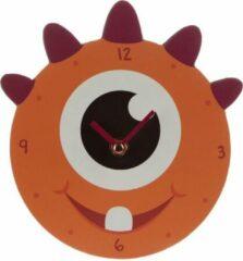 Oranje Wandklok – Orange Monster design / Puckator