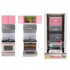 Roze Toitoys Toi-toys Keuken Met Oven Voor Pop Met Licht En Geluid