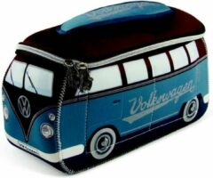 Blauwe Brisa tasje Volkswagen T1 bus - Kleur - Bruin - Petrol