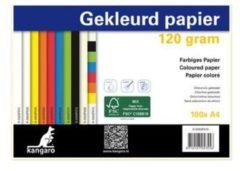 Papier Kangaro A4 120gr pak a 100 vel wit