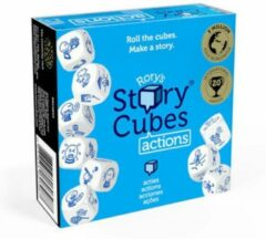 Blauwe Asmodee dobbelspel Rory`s Story Cubes: Actions