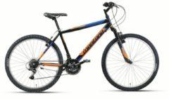 26 Zoll Mountainbike 18 Gang Montana Escape Wham schwarz-orange