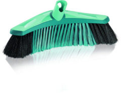 Turquoise Leifheit Xtra Clean Collect parketbezem