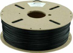 "Zwarte Belgisch Power PLA filament ""Additive Heroes"" (1 kg, 1.75 mm) - Raven Black"