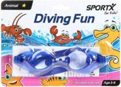 Blauwe Simba-Dickie Kinder Zwembril - Vis
