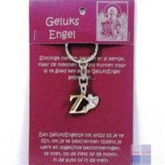 Steengoed Geluksengel Sleutelhanger Z (1st)