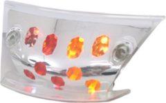 Transparante Achterlicht 'Led' + richtingaanwijzer Edge Piaggio Zip 2000 - met helder glas