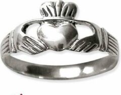Etnox Claddagh Zilveren Ring maat 65