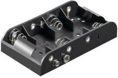 Velleman Batterijhouder Voor 4 X C-Cel (Voor Batterijclips)