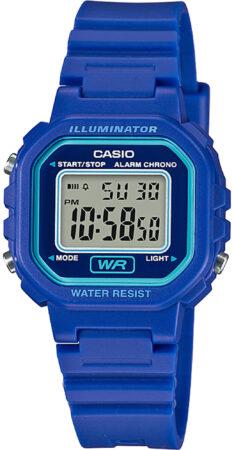 Afbeelding van Blauwe Casio horloge LA-20WH-2AEF