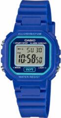 Blauwe Casio horloge LA-20WH-2AEF
