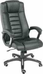 Tectake Luxe design Bureaustoel - Zwart