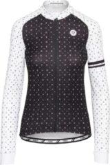 AGU Velo Love Fietsshirt Lange Mouwen Essential Dames Fietsshirt - Maat XL - Wit
