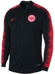 Jacke Eintracht Frankfurt Anthem Jacket 18/19 mit SGE-Wappen 920063-010 Nike Black/Pimento/Pimento