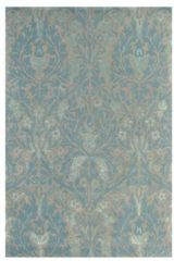 Beige Morris & Co - Laagpolig vloerkleed Morris & Co Autumn Flowers Eggshell 27508 - 200x280 cm