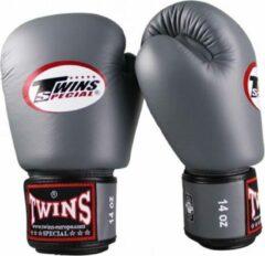 Twins Special Twins (kick)bokshandschoenen Velcro Grijs 16 oz