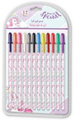 Kids Licensing pennen Eenhoorn junior 26,1 cm 12 stuks