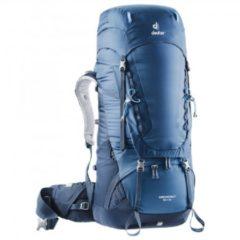 Deuter - Aircontact 55 + 10 - Trekkingrugzak maat 55 + 10 l, blauw/grijs