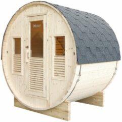 Maison Home Maison's Bella - Buitensauna - Stoom sauna - Barrelsauna - 3 persoons - 160x205x220cm