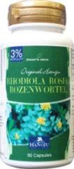 Hanoju Rhodiola rozenwortel 3% Rosavin 400 mg 90 Capsules