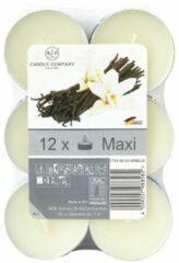 Xenos Geurtheelichten - vanille - 12 stuks