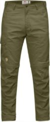 Fjällräven - Karl Pro Zip-Off Trousers - Trekkingbroeken maat 52 - Regular Fit - Raw Length olijfgroen