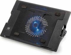 Zwarte Conceptronic Opvouwbare koelstand voor notebooks