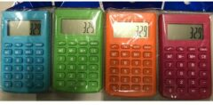 ARO houseware Calculator 8 digit 9x5,5cm assorti kleur