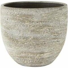 Bruine Ter Steege Pot Karlijn earth bloempot binnen 18 cm