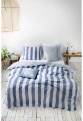 Walra Everline - Dekbedovertrek - Tweepersoons - 200x200/220 cm + 2 kussenslopen 60x70 cm - Blauw
