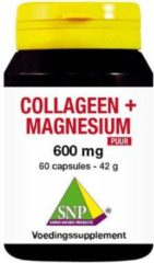 SNP Collageen magnesium 600 mg puur 60 Capsules