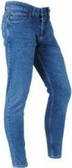 Blauwe catch heren jeans stretch lengte denim