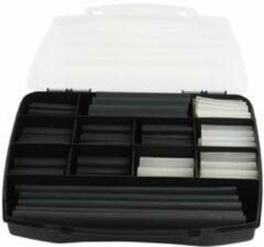 Zwarte Fixapart KKL BOX Zwart, Transparant 235stuk(s) Kabelisollatie