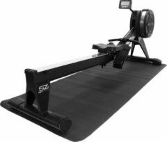 Zwarte Beschermmat Focus Fitness Vloermat - 250 x 100 cm