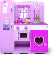 Wooden Toys Classic World Wooden Kitchen Pink