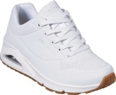 Witte Skechers Uno Stand On Air Dames Sneakers - White - Maat 37