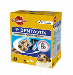 Pedigree Dentastix - Hondensnacks - Dental 28 stuks Mini - Hondenvoer