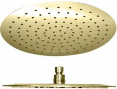 Best Design Nancy ronde regendouche 30cm mat goud