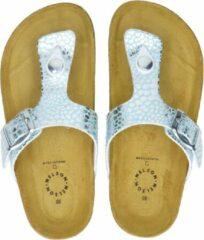Groene Nelson Kids meisjes slippers - Mint - Maat 35