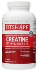 Fitshape - Creatine Ethyl Ester - Sportvoeding - 180 capsules