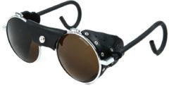 Grijze Julbo Vermont Classic Spectron 4 Sportbril - Chroom / Zwart